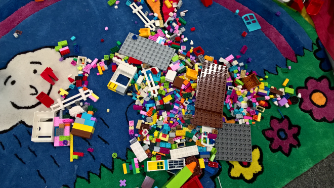 TTLCIC library Lego stories