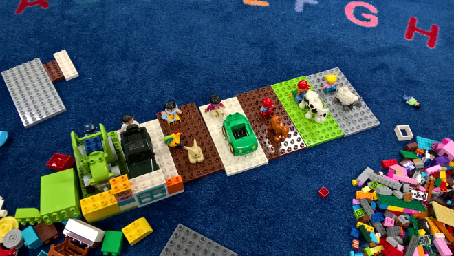 My Story Project: Lego (by Dahl #playfulstorywriting)