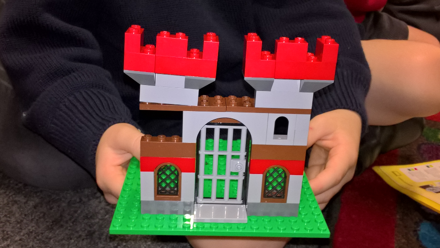 My Story Project: The Castle That Grew Wheels (by George #playfulstorywriting)